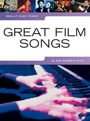 Really Easy Piano: Great Film Songs