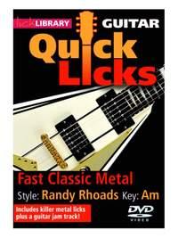 Randy Rhoads: Quick Licks - Randy Rhoads Fast Classic Metal