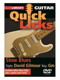 David Gilmour: Quick Licks - Slow Blues David Gilmour