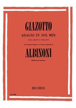 Tomaso Albinoni: Adagio in sol minore (g minor)