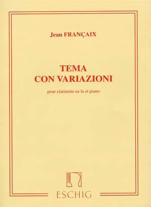 Jean Françaix: Tema Con Variazioni