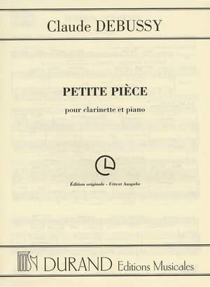 Debussy: Petite Pièce