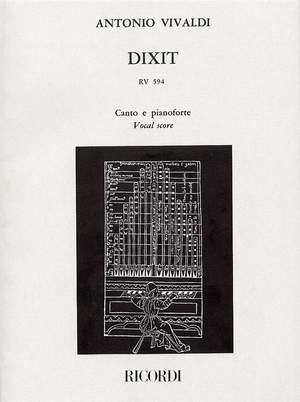 Antonio Vivaldi: Dixit RV594