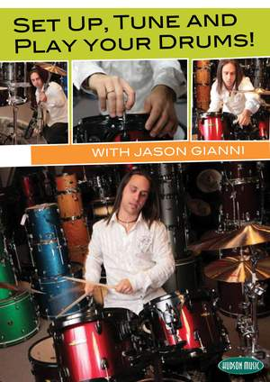 Jason Gianni: Set Up, Tune And Play Your Drums! Product Image