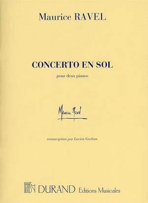 Maurice Ravel: Concerto En Sol