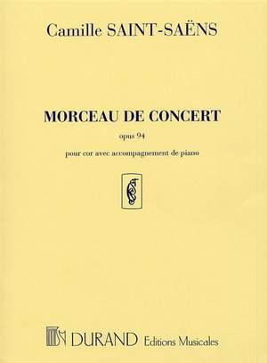 Camille Saint-Saëns: Morceau De Concert Op.94