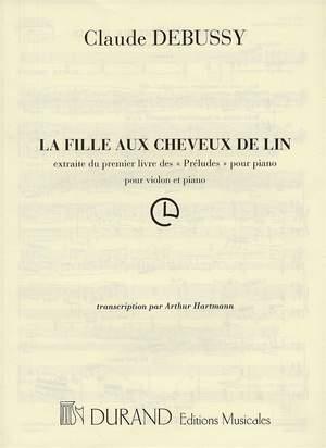 Claude Debussy: La Fille Au Cheveux De Lin