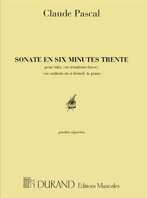 Pascal: Sonate en 6 Minutes 30