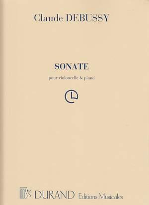 Claude Debussy: Sonata For Cello & Piano