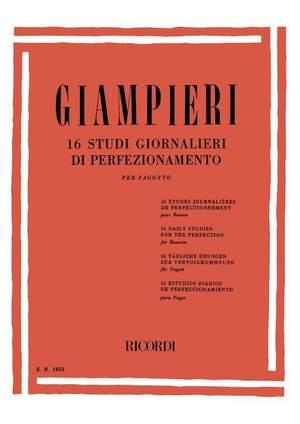 Alamiro Giampieri: 16 Studi Giornalieri Di Perfezionamento