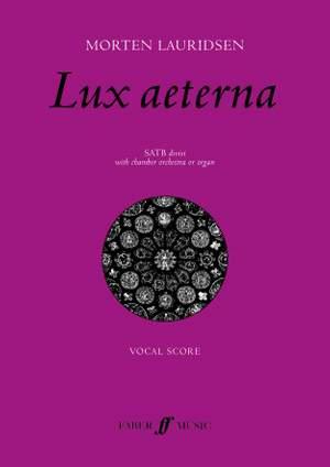 Morten Lauridsen: Lux Aeterna