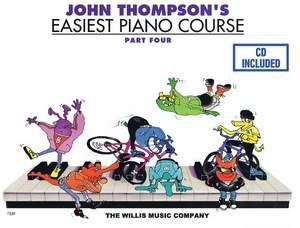 John Thompson: John Thompson's Easiest Piano Course Part 4 +Audio