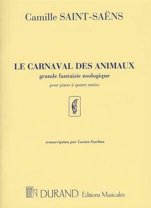 Camille Saint-Saens: Le Carnaval des Animaux (Piano Duet) Product Image