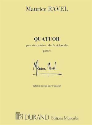 Maurice Ravel: Quatuor