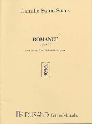 Camille Saint-Saëns: Romance Op.36