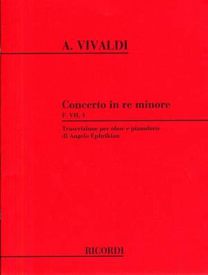 Antonio Vivaldi: Concerto In D Minor