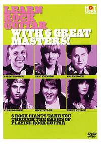 Learn Rock Guitar with 6 Great Masters!