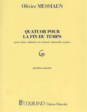 Olivier Messiaen: Quatuor Pour La Fin Du Temps