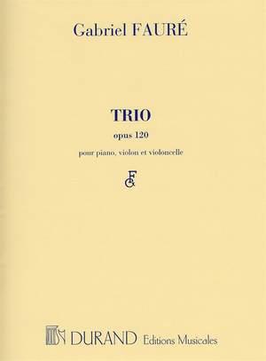 Fauré: Trio Op.120