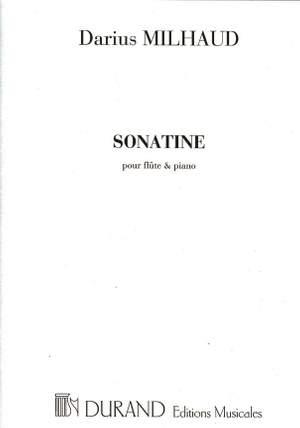 Darius Milhaud: Sonatine