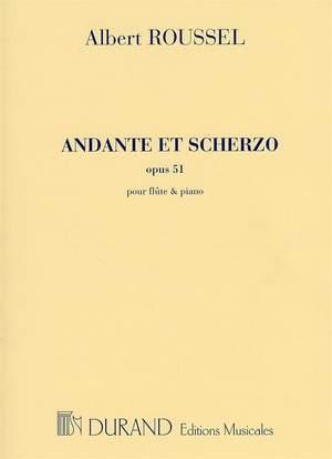Albert Roussel: Andante et Scherzo Op 51