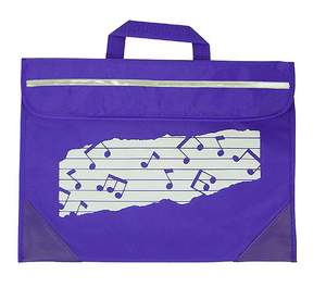 Mapac: Music Bag Duo - Music Notes (Purple)