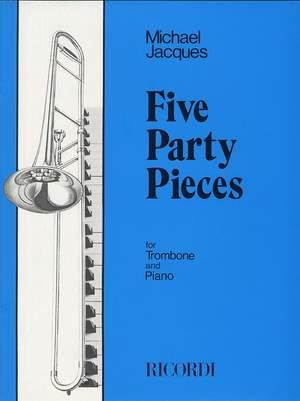 Michael Jacques: 5 Party Pieces
