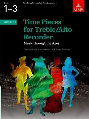 Kathryn Bennetts: Time Pieces for Treble/Alto Recorder, Volume 1