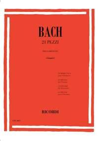 Johann Sebastian Bach: 21 Pieces For Clarinet