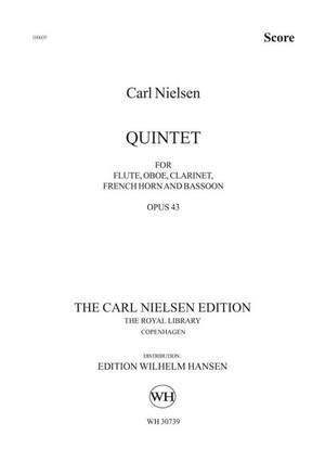 Carl Nielsen: Wind Quintet Op.43 Product Image