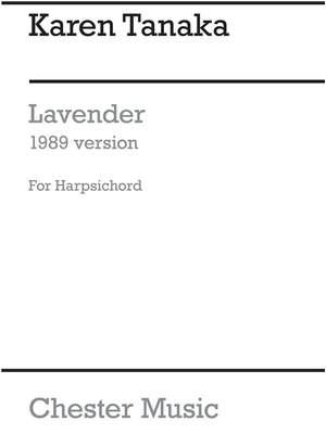 Karen Tanaka: Lavender (1989 Version)