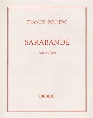 Francis Poulenc: Sarabande