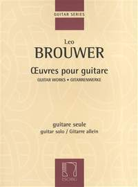 Leo Brouwer: Œuvres pour guitare