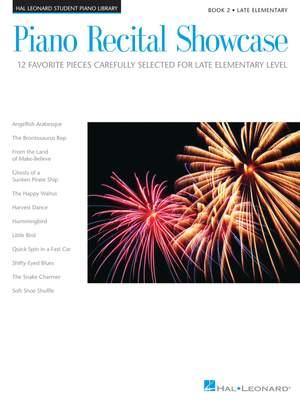 Bill Boyd_Carol Klose_Deborah Brady_Jennifer Linn_Mike Springer_Phillip Keveren: Piano Recital Showcase - Book 2