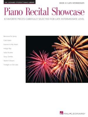 Carol Klose_Jennifer Linn_Matthew Edwards_Mona Rejino_Phillip Keveren: Piano Recital Showcase - Book 4