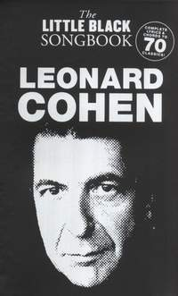 Leonard Cohen: The Little Black Songbook: Leonard Cohen
