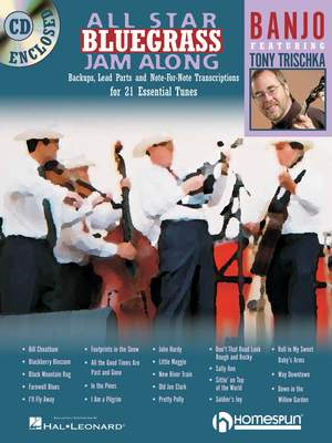 All Star Bluegrass Jam Along - Banjo Product Image