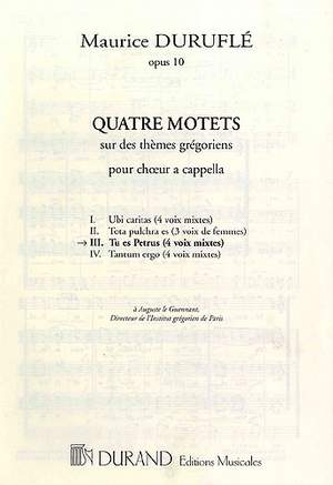 Maurice Duruflé: Quatre Motets: Tu es Petrus Op.10 N 3