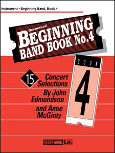 Anne McGinty_John Edmondson: Beginning Band Book #4 For Percussion