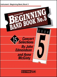 Anne McGinty_John Edmondson: Beginning Band Book #5 For Percussion