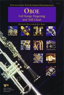 Foundations For Superior Performance Fingering & Trill Chart Oboe