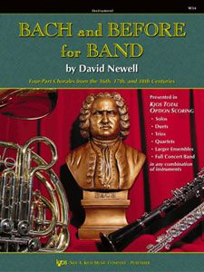David Newell: Bach And Before For Band