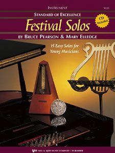 Bruce Pearson_Mary Elledge: Standard Of Excellence Festival Solos