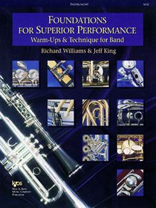 Richard Williams_Jeff King: Foundations for Superior Performance (Oboe)