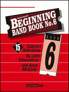 Anne McGinty_John Edmondson: Beginning Band Book #6 For Percussion