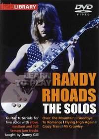 Randy Rhoads: Learn To Play Randy Rhoads - The Solos