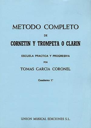 Tomas Garcia Coronel: Metodo Completo De Trompeta Vol.1