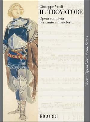 Giuseppe Verdi: Il Trovatore - Vocal Score