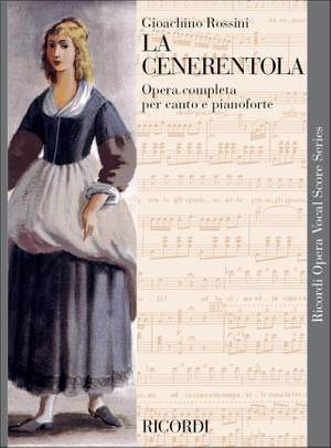 Gioachino Rossini: La Cenerentola - Opera Vocal Score Product Image