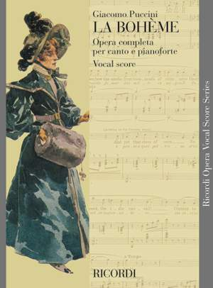Giacomo Puccini: La Boheme - Opera Vocal Score